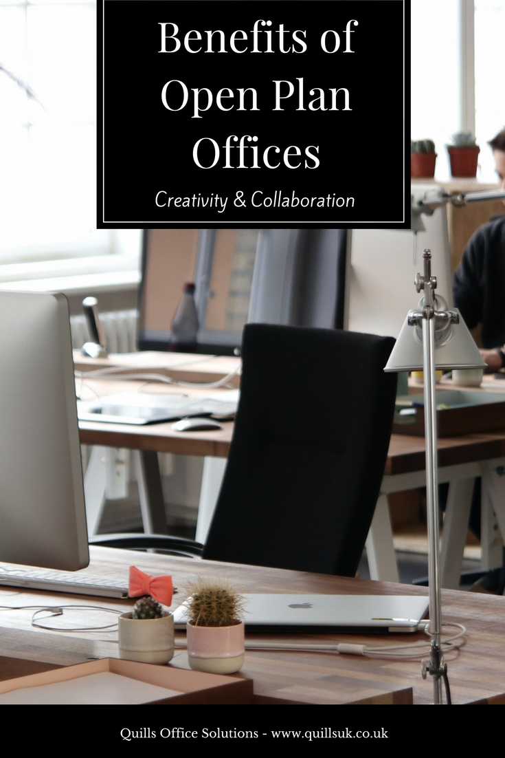 Benefits Of Open Offices; the real benefits and drawbacks, plus how you can optimise your open office.