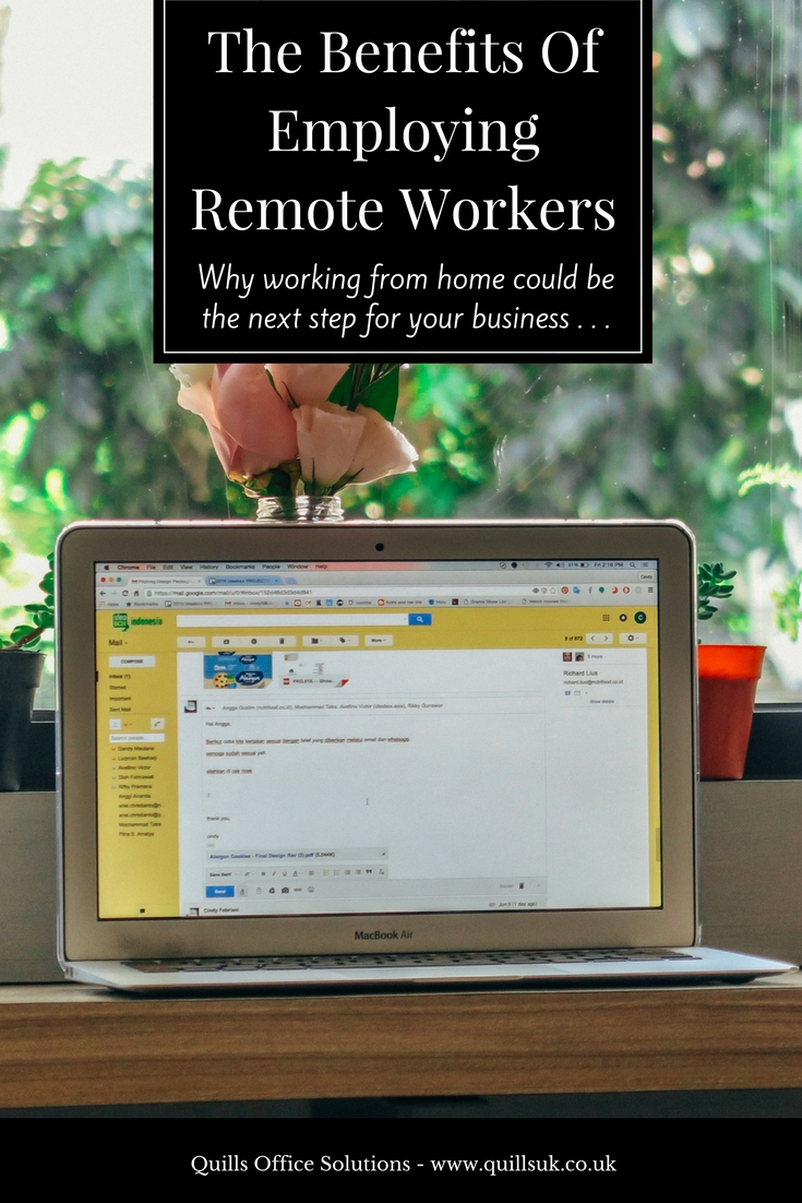 should you let your employees work from home the benefits of remote
