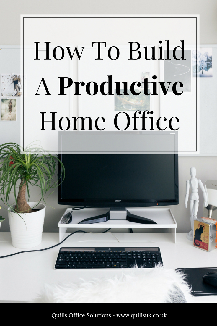 Today we\u0027re sharing our top tips on building a home office that will actually allow you to get stuff done.