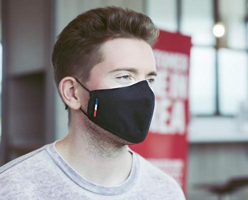 nano silicon eco mask black