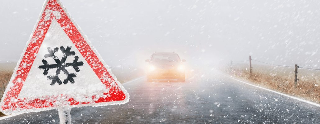 winter facilities management employees help