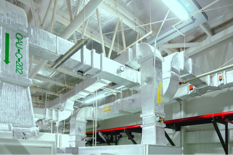 Air Handling System Interior